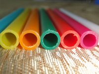 Color PVC tube