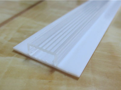 co-extruded light cover